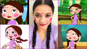 make the hairstyle for the bride in the make up games for girls the indian cartoon chhota bheem chutki inspired makeup look