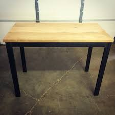 Industrial Standing Desk custom standing desk work station by cauv design llc