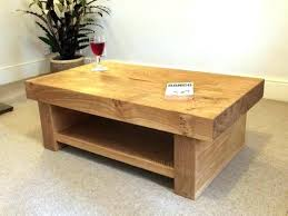 Rounded Edge Coffee Table - oak coffee table set u2013 thelt co