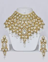 bridal jewelry jewelry from india heavy indian bridal jewelry set with stones