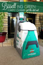 Renting A Rug Cleaner Bissell Big Green Carpet Cleaner Get The Dirt Out A Thousand