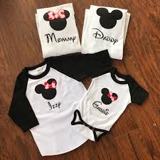 Mickey Mouse Halloween T Shirts by Mickey Mouse Shirts For Family Disney Baseball Shirts