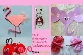 animal themed valentine u0027s crafts crafts kids pbs parents