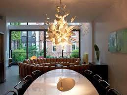 unique contemporary chandelier for impressive dining room