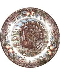 shopping special turkey dinner plates set of 4 11