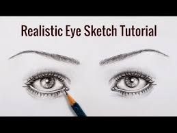 diy pencil sketching tutorial how to draw realistic eyes sketch
