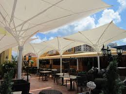Custom Shade Canopies by Retractable Center Post Inverted Umbrellas Custom Canopies