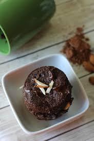 double chocolate almond low carb mug cake recipe