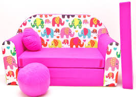 Kid Sofa Bed by Childrens Sofa Bed Fold Out Sofa Bed Free Pillow And Pouffe