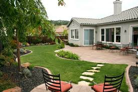 Ideas For Backyard Landscaping Architecture Simple Backyard Landscape Back Yard Design Ideas
