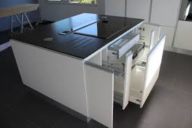 plan de cuisine avec ilot central cuisine ilot central table manger amiko a3 home solutions 24