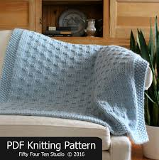 Wedding Gift Knitting Patterns Blanket Knitting Pattern Belleview Blanket Throw Afghan