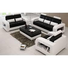 salon fauteuil canape canape cuir vachette pleine fleur 14 salon set canap233s 3
