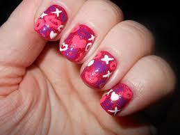 heart nail art for valentine u0027s day trendy mods com