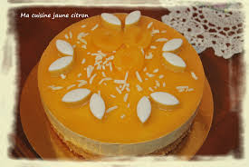 cuisine calisson bavarois calisson ma cuisine jaune citron