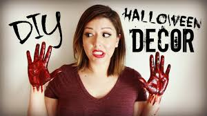 cheap halloween stuff diy halloween decor fun easy and affordable youtube