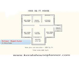 Kerala House Single Floor Plans With Elevations Small House Plans In Kerala 3 Bedroom Keralahouseplanner