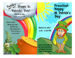 st patrick u0027s day harris county public library