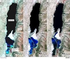 How Did The Treaty Change The World Map by Dead Sea Drying A New Low Point For Earth Bbc News