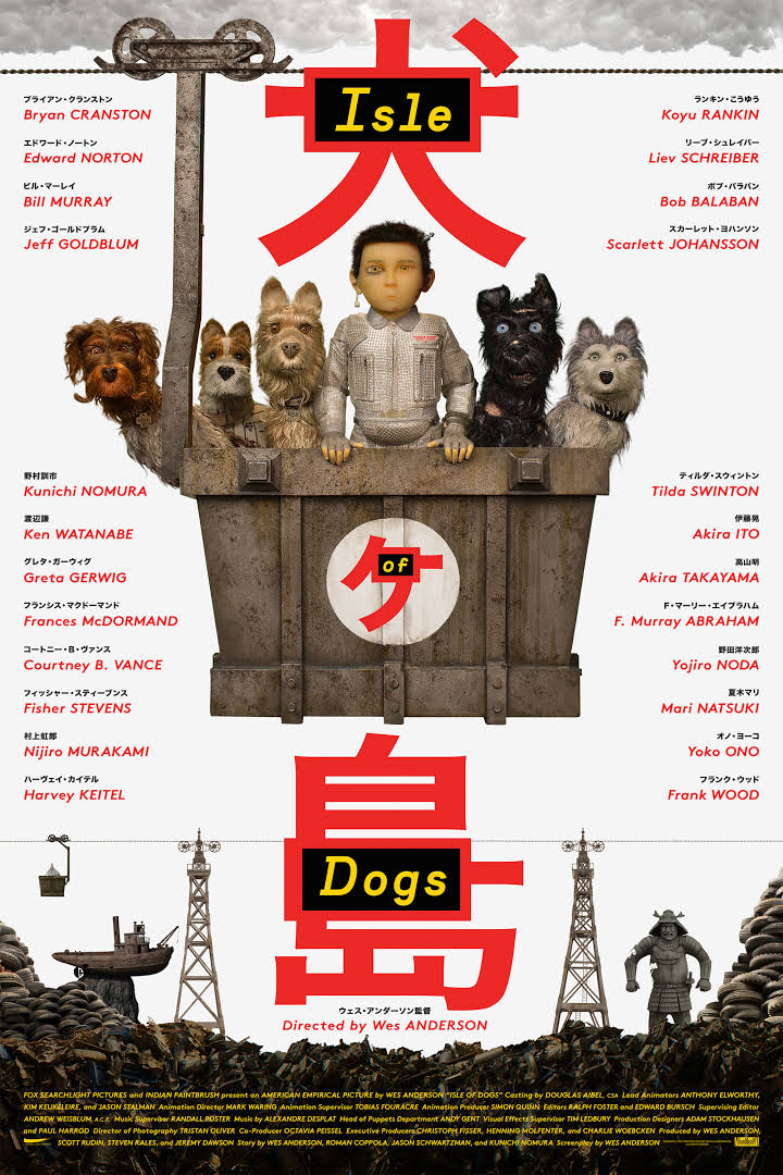 Image result for Isle of Dogs 2018