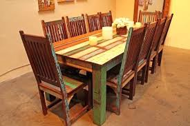 Custom Made Dining Room Furniture Dining Table Reclaimed Wood Trestle Dining Table Uk Room Tables