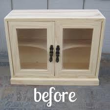 Cabinet Polish Summer Crafting Day 8 Wooden Cabinet Makeover U2014 Me U0026 My Big Ideas