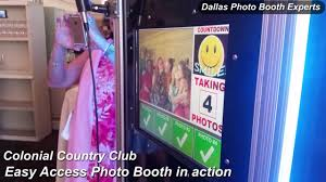 Rent Photo Booth Photo Booth Rentals For Weddings At Colonial Country Club Fort