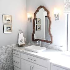 silver gray paint colors transitional bathroom benjamin