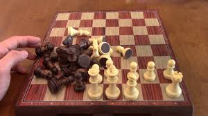 review kidami folding magnetic chess set youtube