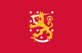 Burning Red Flag Flag Of Finland Wikipedia