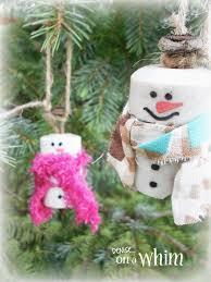 on a whim insulator snowmen ornaments