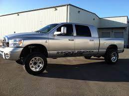 Dodge 3500 Lifted Trucks - 14 white ram 3500 laramie mega cab 4x4 diesel like 2500 2010 2011