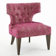 Tufted Accent Chair Glitz Tufted Accent Chair Pink Gold Scenario Home