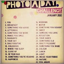 Challenge Rate What Is The Instagram Photo A Day Challenge For January Smart