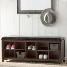 Winslow White Shoe Storage Cubbie Bench Prepac Winslow White Shoe Storage Cubbie Bench Mdf Solid