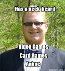 Internet Geek Meme - neckbeard know your meme