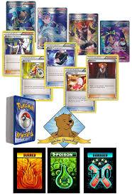 Pokemon Trainer Card Designer Amazon Com 50 Assorted Pokemon Card Pack Lot 25 Trainer Supporter