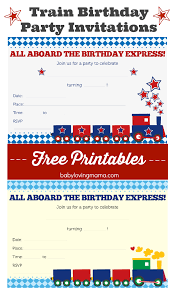 birthday invitations free printables finding zest