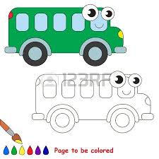 green quad bike colored coloring book educate kids
