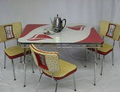 Modern Kitchen Table Virtue Brothers Of California Chrome Table 1954