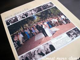 our wedding scrapbook scrapbook layout wedding scrapbook our guests almost never clever