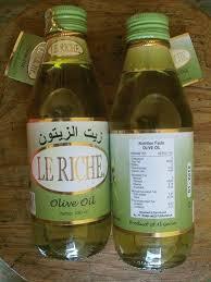 Minyak Zaitun Termurah jual minyak zaitun le riche 300 ml kemasan botol agen distributor