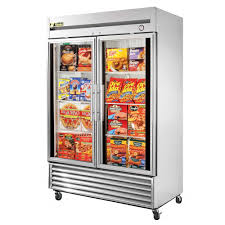 table top freezer glass door get the best price on self contained refrigeration freezers pg 1