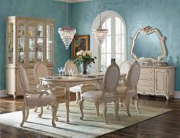 9 piece aico lavelle cottage oval dining set usa furniture warehouse