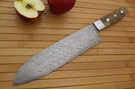 made kitchen knives made 8 damascus chefs knife by cote custom knives