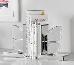 Butterfly Desk Accessories Bookends Desk Accessories Pottery Barn