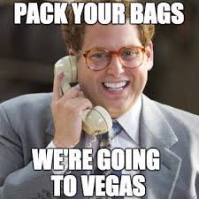 Stag Party Meme - the bank las vegas on twitter pack your bags the party returns