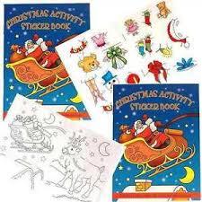 christmas colouring book ebay