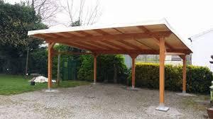 coperture tettoie in pvc struttura tettoia copriauto 600x500 cm legno a comacchio