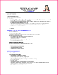 Document Control Resume Sample 100 Curriculum Vitae Samples Human Resources Example Of